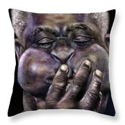 The Amazing Gillespie  Throw Pillow by Reggie Duffie