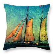 The America Nr 2 Throw Pillow