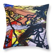 The American Experiment Throw Pillow