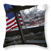 The American Flag Is Prominent Amongst Throw Pillow
