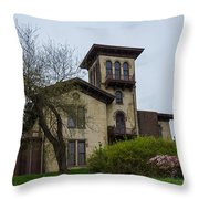 The Anchorage - Putnam Villa Throw Pillow