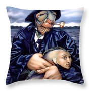 The Ancient Mariner Throw Pillow by Patrick Anthony Pierson
