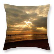 The Angels Are Calling Throw Pillow
