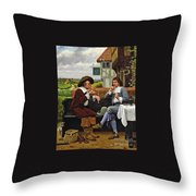 The Anglers Rest  Throw Pillow