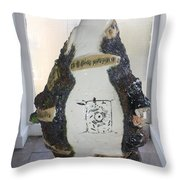 The Animal Cell - View Two Throw Pillow