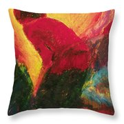 The Annunciation - Bganc Throw Pillow