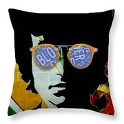 The Answer Is Blowin' In The Wind. Bob Dylan Throw Pillow
