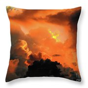 The Answer Is Out There Throw Pillow