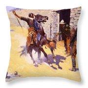 The Apaches Throw Pillow