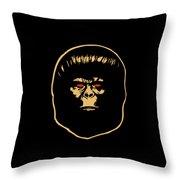 The Ape Throw Pillow