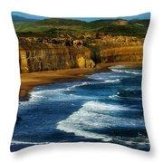The Apostles Throw Pillow