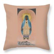 The Apparition Of St Kateri Tekakwitha 192 Throw Pillow