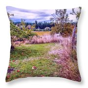 The Apple Never Falls Far From The Tree Throw Pillow