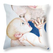 The Apple Of My Eye Throw Pillow