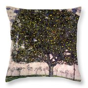The Apple Tree II Throw Pillow