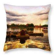The Approaching Storm Walt Disney World Throw Pillow