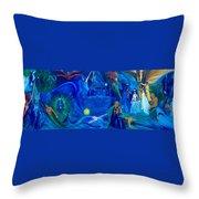The Aquarian Family Tree  Throw Pillow