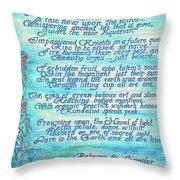 The Aquarian Philosophy Throw Pillow