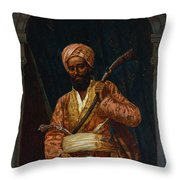 The Arab Guard Throw Pillow