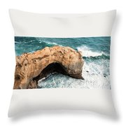 The Arch At Port Campbell National Park Throw Pillow