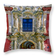 The Archbishop's Palace Of Seville Throw Pillow