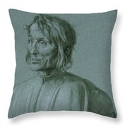 The Architect Hieronymus Von Augsburg Throw Pillow