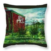 The Ark Wa. Throw Pillow