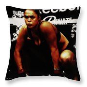 The Arm Collector Rondy Rousey Throw Pillow
