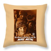 The Army Is Counting On You  Throw Pillow