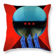 The Arrival 3 Throw Pillow