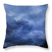 The Arrival Throw Pillow