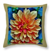 The Art In Flowers 2 Throw Pillow