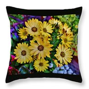 The Art In Flowers 5 Throw Pillow