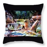 The Art Installation Throw Pillow