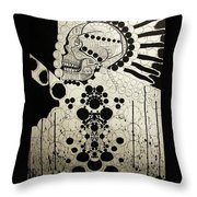 The Art Of Abstraction Throw Pillow
