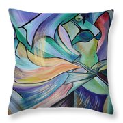 The Art Of Belly Dance Throw Pillow