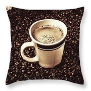 The Art Of Brewing Throw Pillow