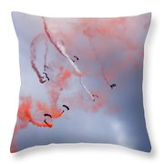 The Art Of Falling Throw Pillow