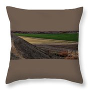 The Art Of Farming Throw Pillow