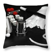 The Art Of Magic Throw Pillow