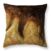 The Art Of Sand Throw Pillow