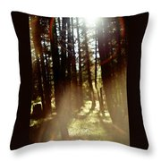 The Art Of The Forest Throw Pillow