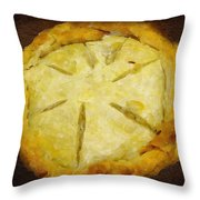 The Art Of The Pie Throw Pillow