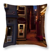 The Art Sale Throw Pillow