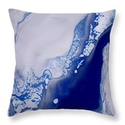The Artic Throw Pillow
