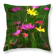 The Artistic Side Of Nature Throw Pillow