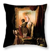 The Artist's Dream Throw Pillow