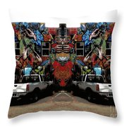 The Artist's House Throw Pillow
