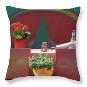 The Artists Studio Throw Pillow