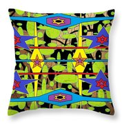 The Arts Of Textile Designs #28 Throw Pillow